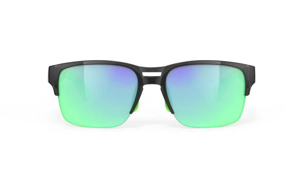 Rudy Project Spinair 58 Cyrstal Graphite Polarized Multi Laser Green Lenses - Rudy Project