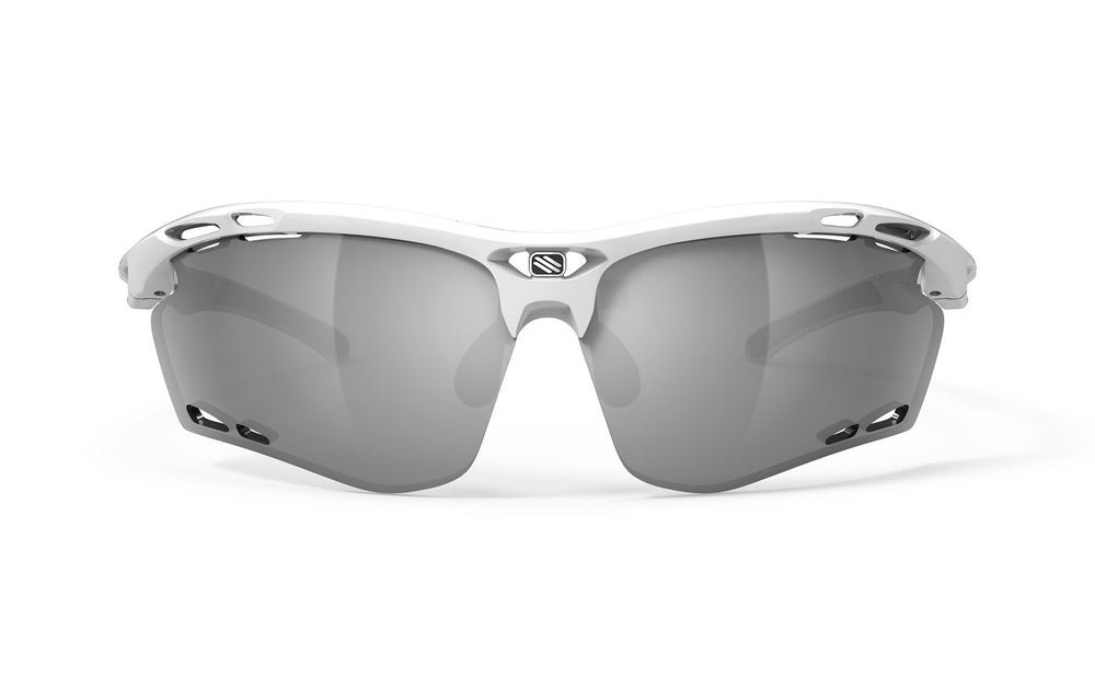 Rudy Project Propulse White Gloss Laser Black Lenses - Rudy Project