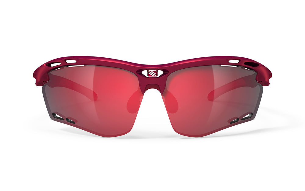 Rudy Project Propulse Merlot Matte Multi Laser Red Lenses - Rudy Project