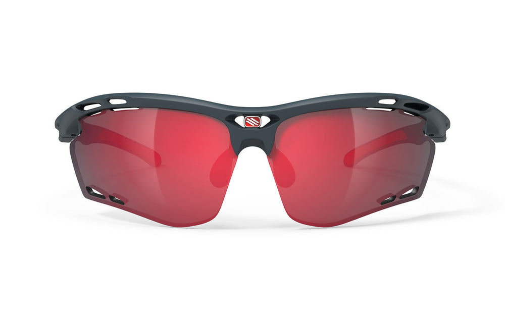 Rudy Project Propulse Charcol Matte Multi Laser Red Lenses - Rudy Project