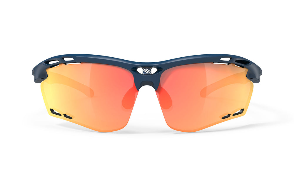 Rudy Project Propulse Blue Navy Matte Multi Laser Orange Lenses - Rudy Project