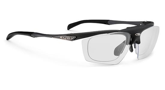 Rudy Project Impulse Black Photochromic Black lens with Flip-Up RX