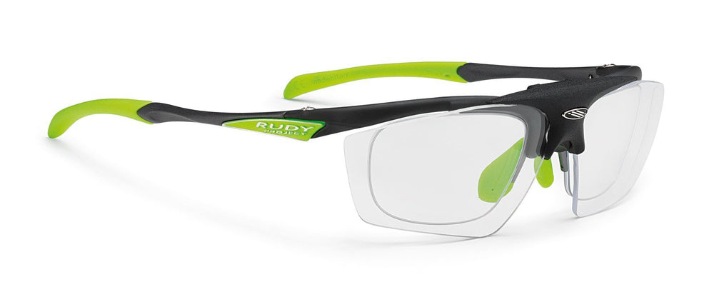 Rudy Project Impulse Ash Photochromic Black lens with Flip-Up RX Clip