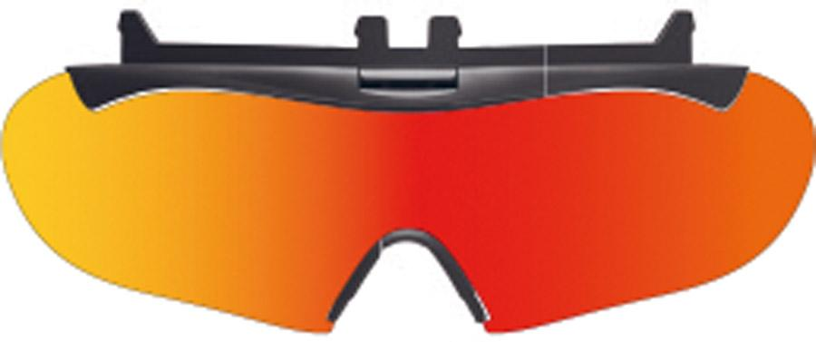 Rudy Project Boost01/Wing57 Flip-Up Visor Multi Laser Orange
