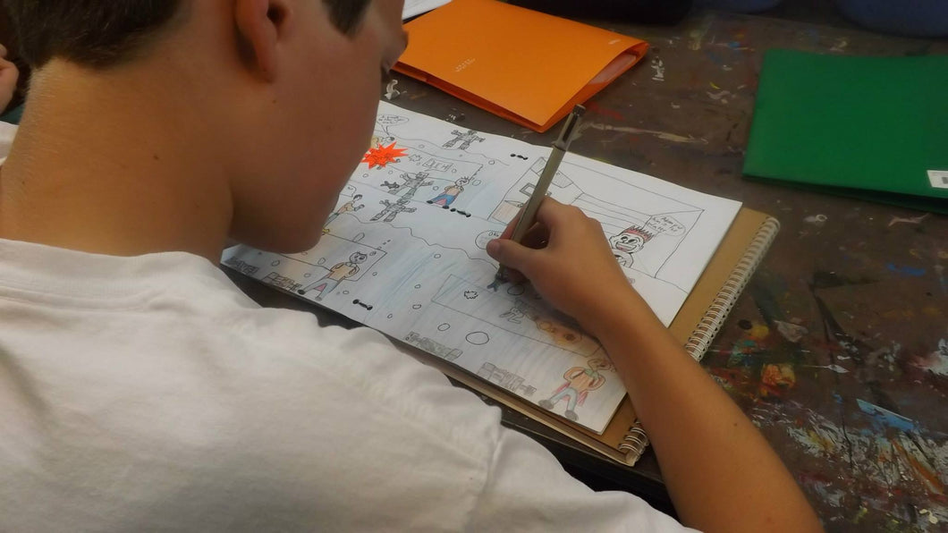Comics to Animation | June 15 - 19 | Grades 3 - 6