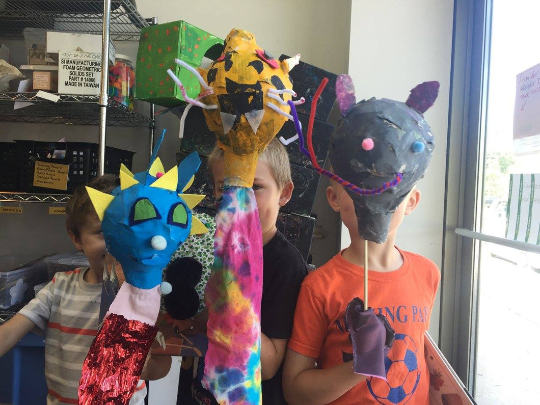Art on the Move! | August 3 - 7 | Grades 3 - 6
