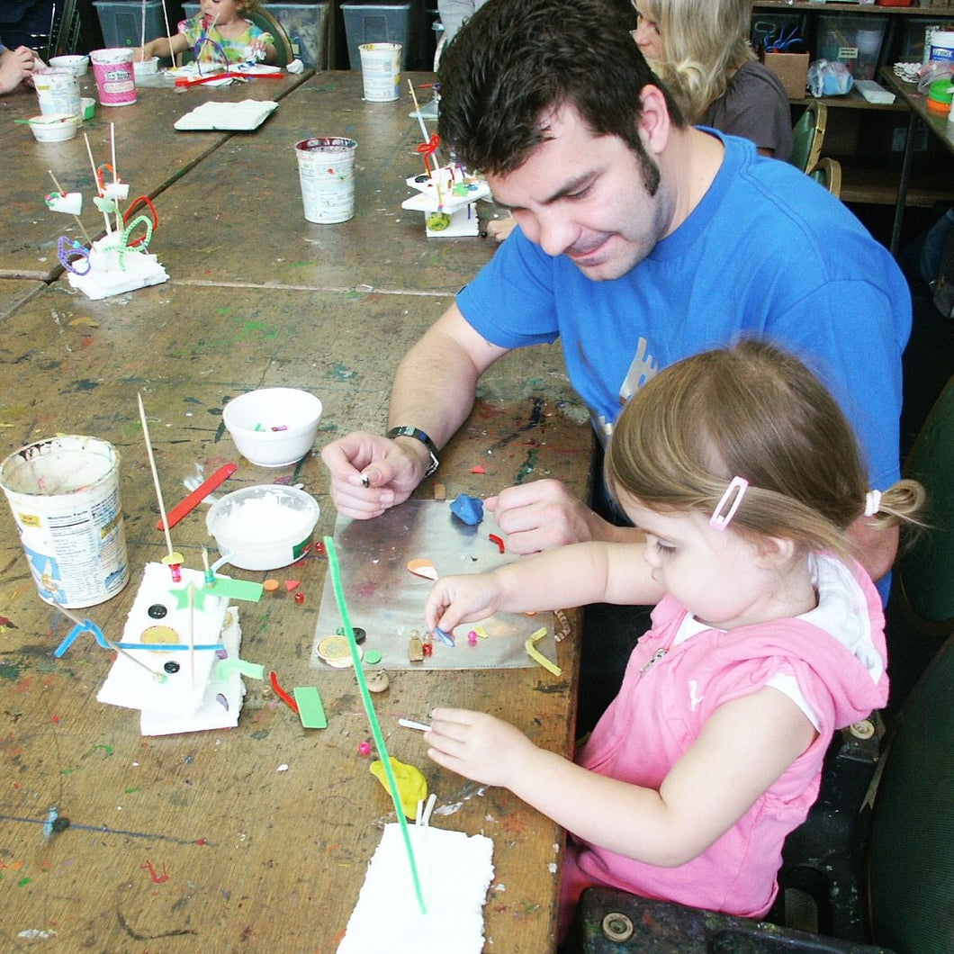 Art Sprouts | April 8 - May 6 | Age 1 with caregiver