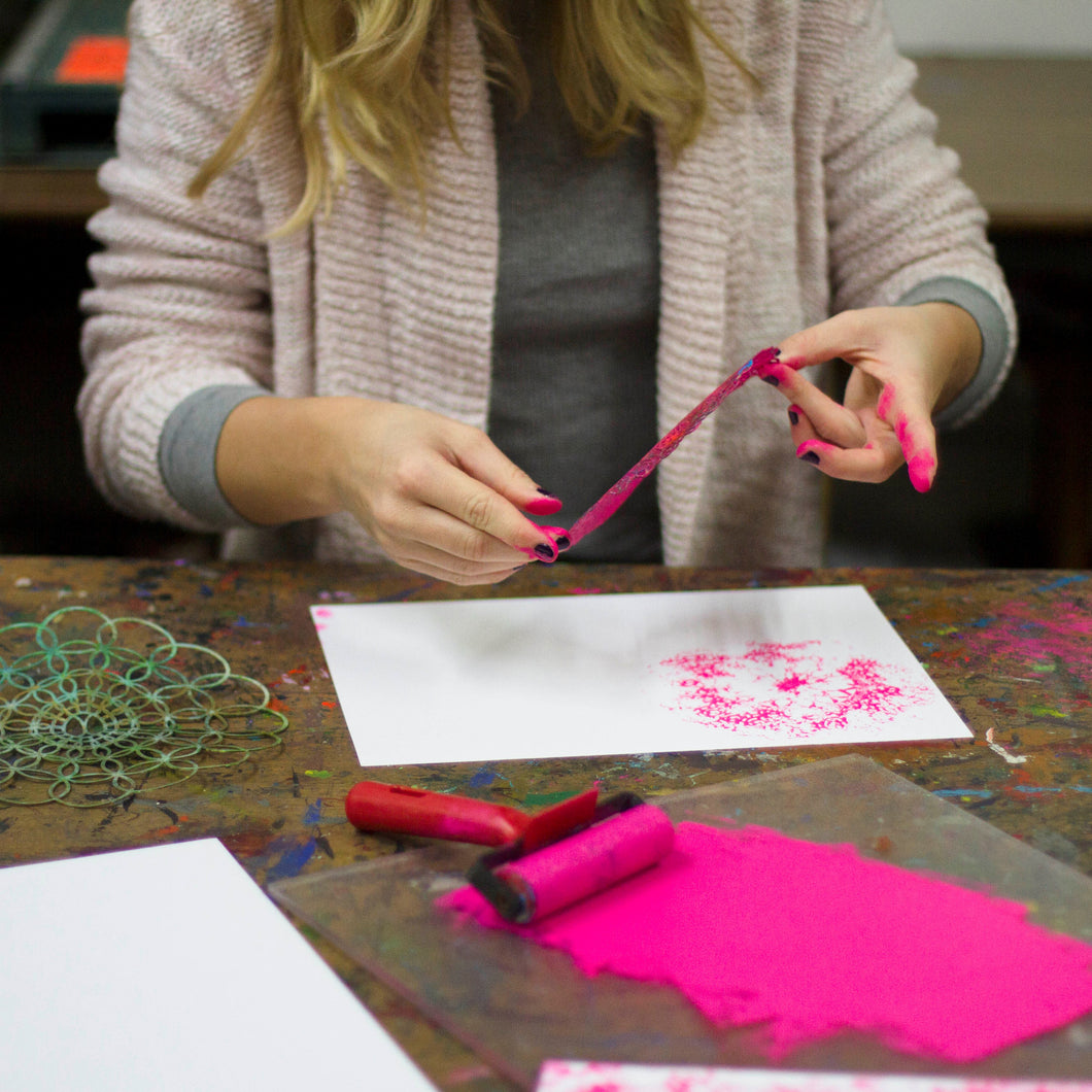 Creative Printmaking | January 27 - February 17 | 4 weeks