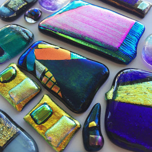 Fused Glass Jewelry // May 9 & 16 // 2 weeks