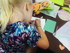 Art Blossoms // Feb 2 - Mar 16 // PreK age 4 - grade 1