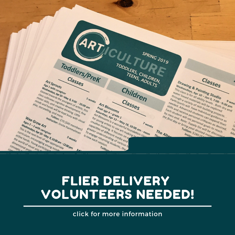 Flier Delivery Volunteers