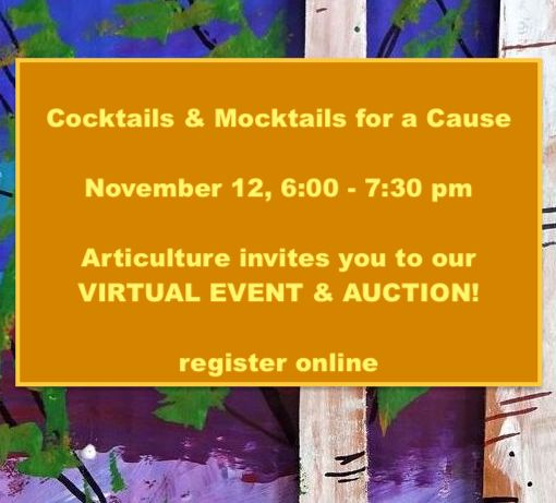Cocktails & Mocktails for a Cause: A Fundraiser for Articulture
