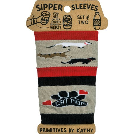 COFFEE SIPPER SLEEVES (ANY BEVERAGE) 2 PACK