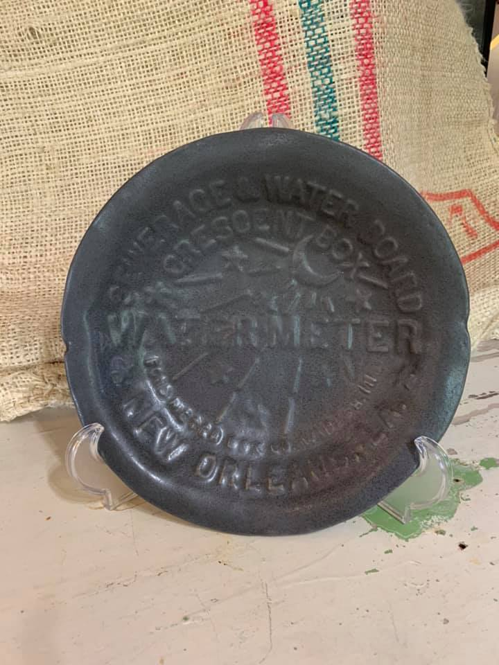 NEW ORLEANS WATER METER SERVING BOWL