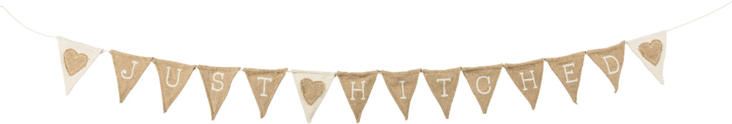JUST HITCHED FABRIC GARLAND