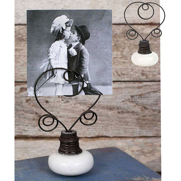 Vintage Doorknob Photo Holder