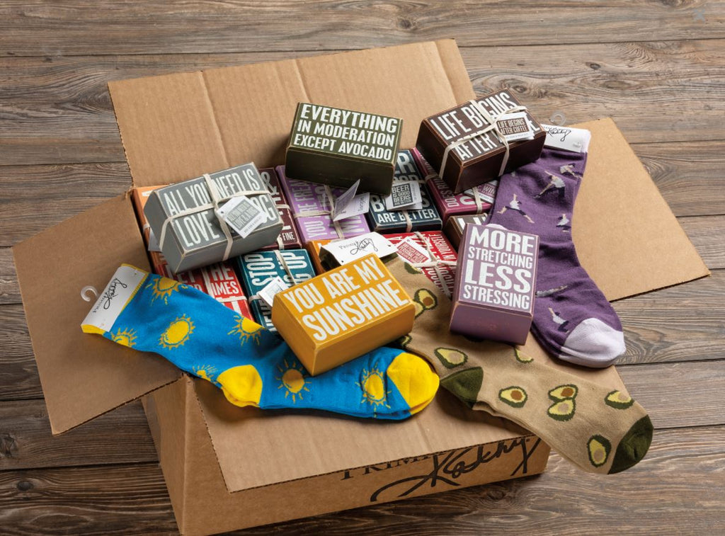 BOX SIGN & SOCK SETS