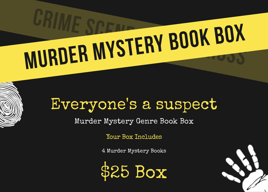 $25 Murder Mystery Book Box