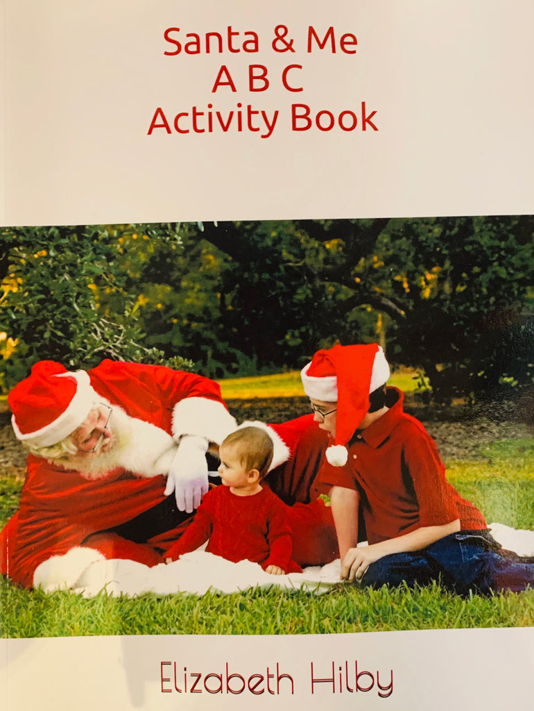 Santa & Me ABC Activity Book -Local Author Liz Hilby