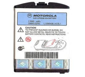 Genuine Motorola Snn5325C Battery
