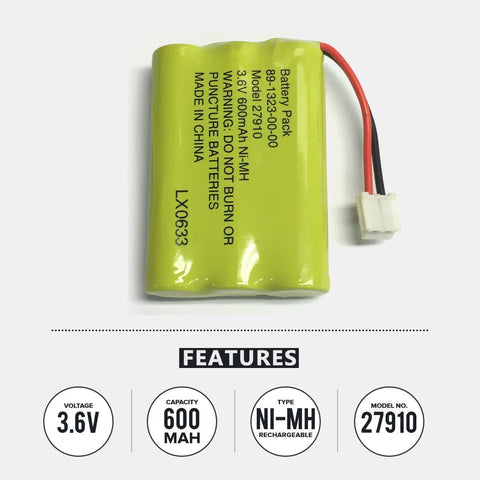 Image of Vtech Ia5849 Cordless Phone Battery