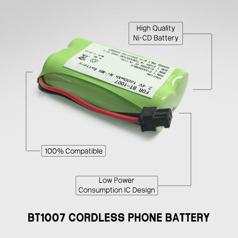 Image of Ace 3297827 Cordless Phone Battery