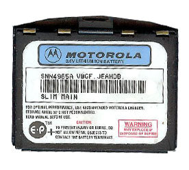 Genuine Motorola Snn4965A Battery