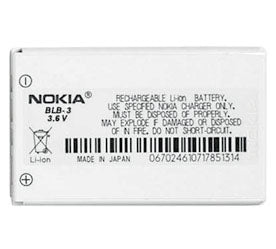 Genuine Nokia Blb 3 Battery