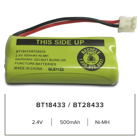 Image of Vtech Bt18433 Cordless Phone Battery