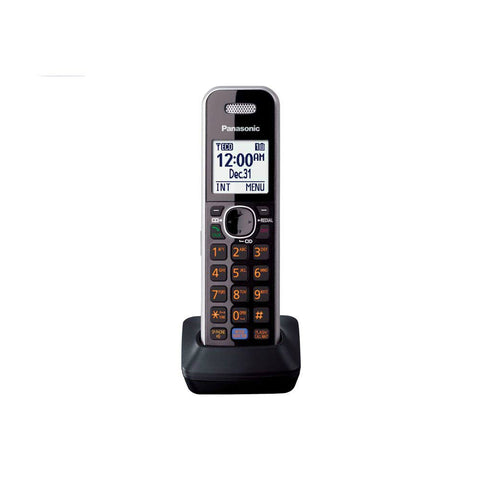 Image of Panasonic KX-TG7875S Bluetooth Cordless Phone Link2Cell with 5 Handsets and Digital Answering Machine