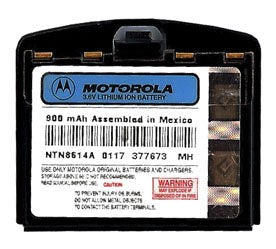 Genuine Motorola Ntn8614A Battery