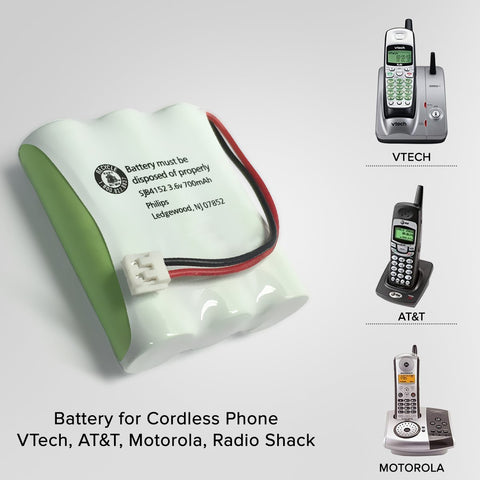 Image of Vtech Mg2423 Cordless Phone Battery