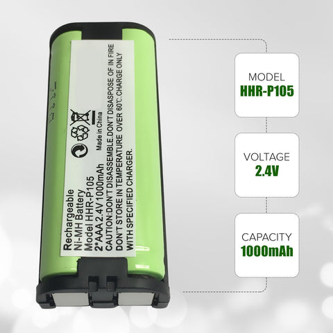 Image of Ace 3297561 Cordless Phone Battery