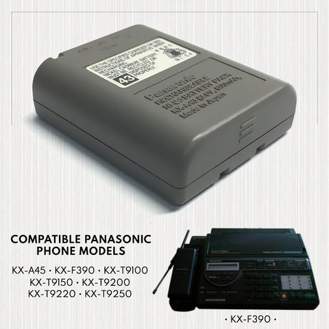 Image of Again Again Stb943 Cordless Phone Battery