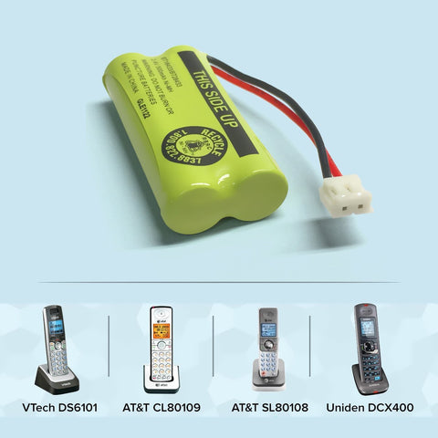 Image of Vtech 89 1335 00 00 Cordless Phone Battery