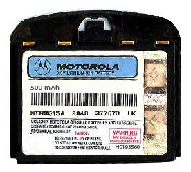 Genuine Motorola I1000 Battery