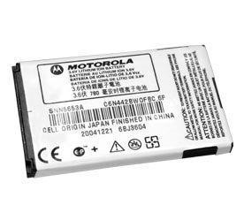 Genuine Motorola Snn5653A Battery