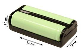 Image of AT&T  2402 Cordless Phone Battery