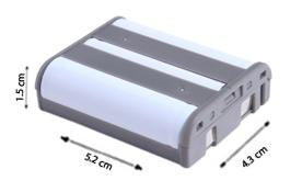 Image of Ace 3297595 Cordless Phone Battery