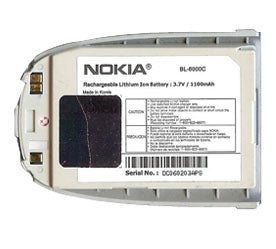 Genuine Nokia Bl 6000C Battery