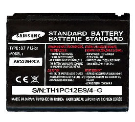 Samsung Ab533640Cabstd Battery