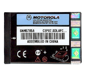 Genuine Motorola Snn5705A Battery
