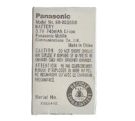 Genuine Panasonic Eb Bsg60Us Battery
