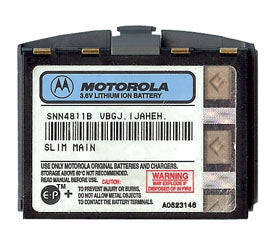 Genuine Motorola Snn4811B Battery