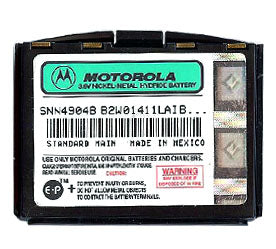 Genuine Motorola Snn4904B Battery