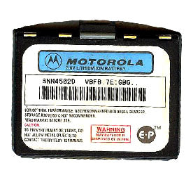 Genuine Motorola Snn4502D Battery
