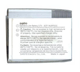 Sanyo Scp 9000 Battery