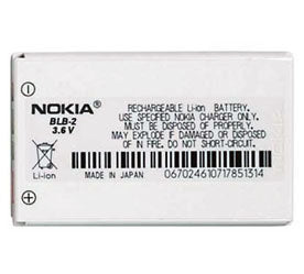Genuine Nokia 8210 Battery