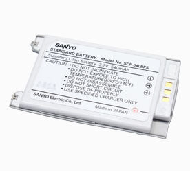 Sanyo Scp 6000 Battery