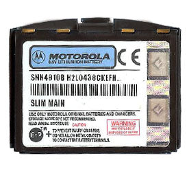 Genuine Motorola Snn4810B Battery